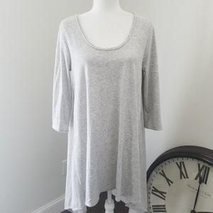 Max Studio Sweatshirt Jersey Dress Tunic